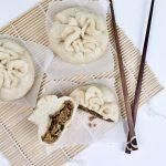 Siopao mit (Soja)Faschiertem und Pilzen